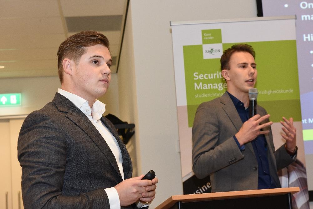 Thijs Maters en Lodewijk Leunk, schrijvers van de Whitepaper Cybercrisismanagement